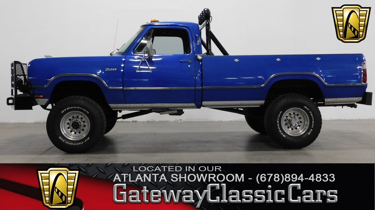 hight resolution of 1973 dodge power wagon gateway classic cars of atlanta 261