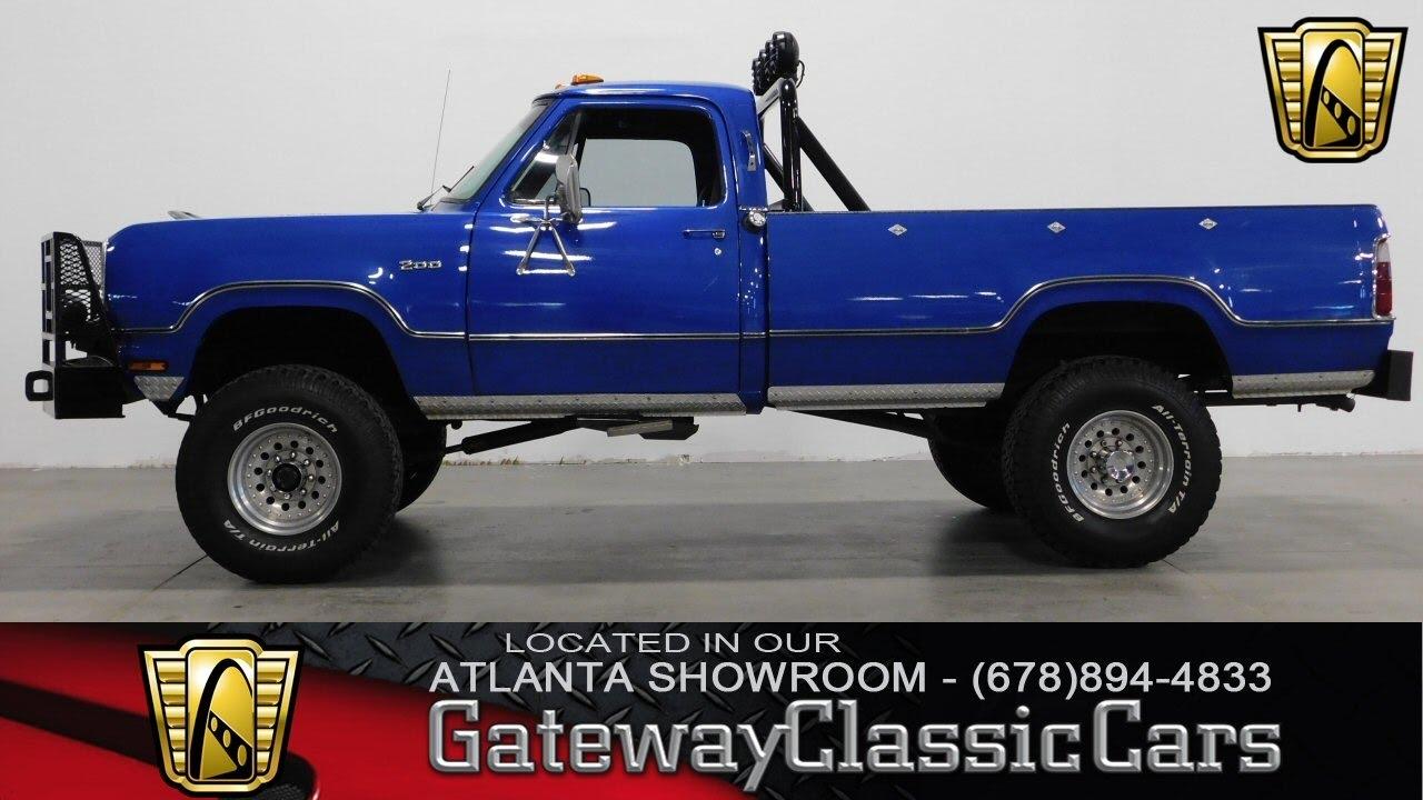 63 Power Wagon >> 1973 Dodge Power Wagon - Gateway Classic Cars of Atlanta #261 - YouTube