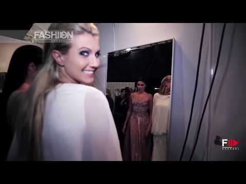 MISS UNIVERSE for TONY WARD COUTURE Backstage Moscow 2013 by Fashion Channel