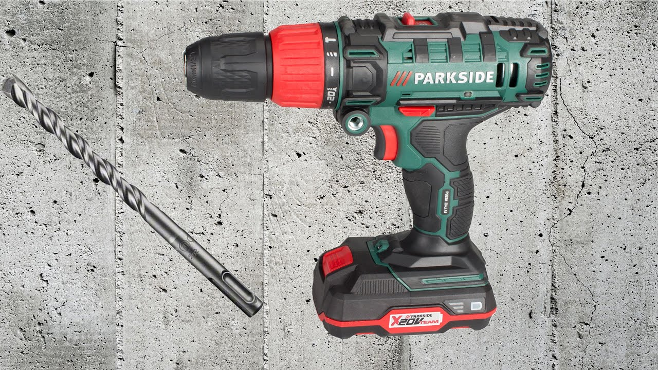 parkside 2 speed cordless impact drill psbsa 20 li b2 unboxing testing youtube. Black Bedroom Furniture Sets. Home Design Ideas