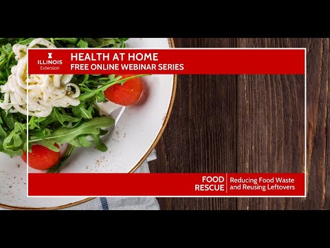 #Health At Home: #Food Rescue At Home