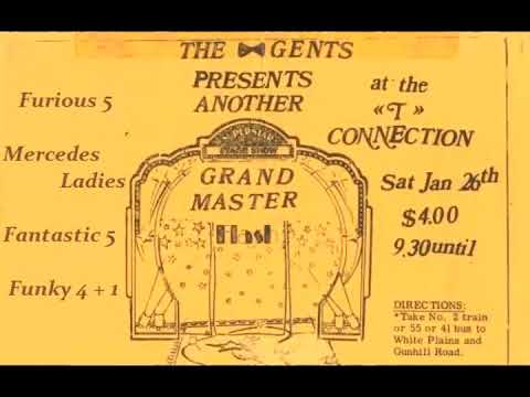 Grandmaster Flash &... - Live At T-Connection (Early 1980's Hip Hop / Old School Hip Hop)