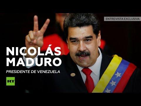 Entrevista exclusiva a Nicolás Maduro, presidente de Venezuela