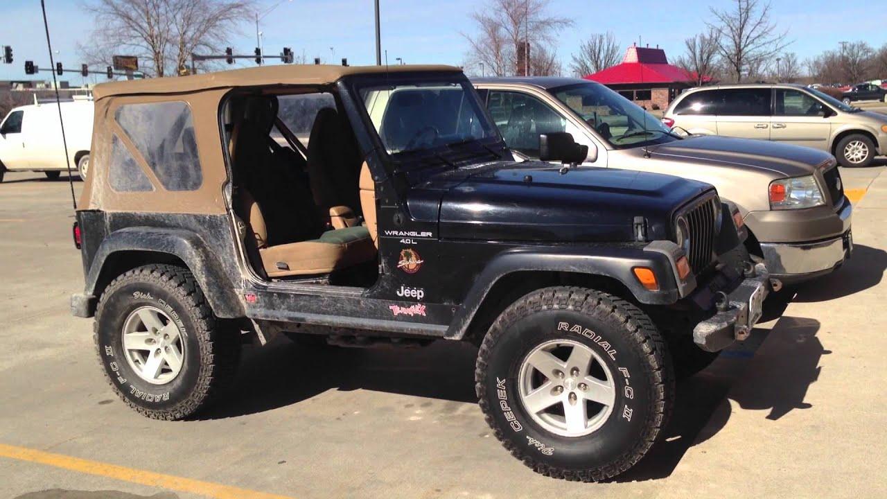 97 Jeep Tj U003eu003e 1.5 Inch Body Lift With 35s!! 1997 Jeep Wrangler