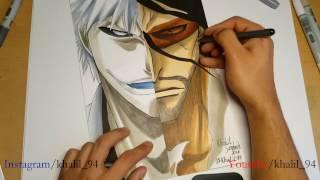 Speed Drawing - Zangetsu/Hollow-Ichigo