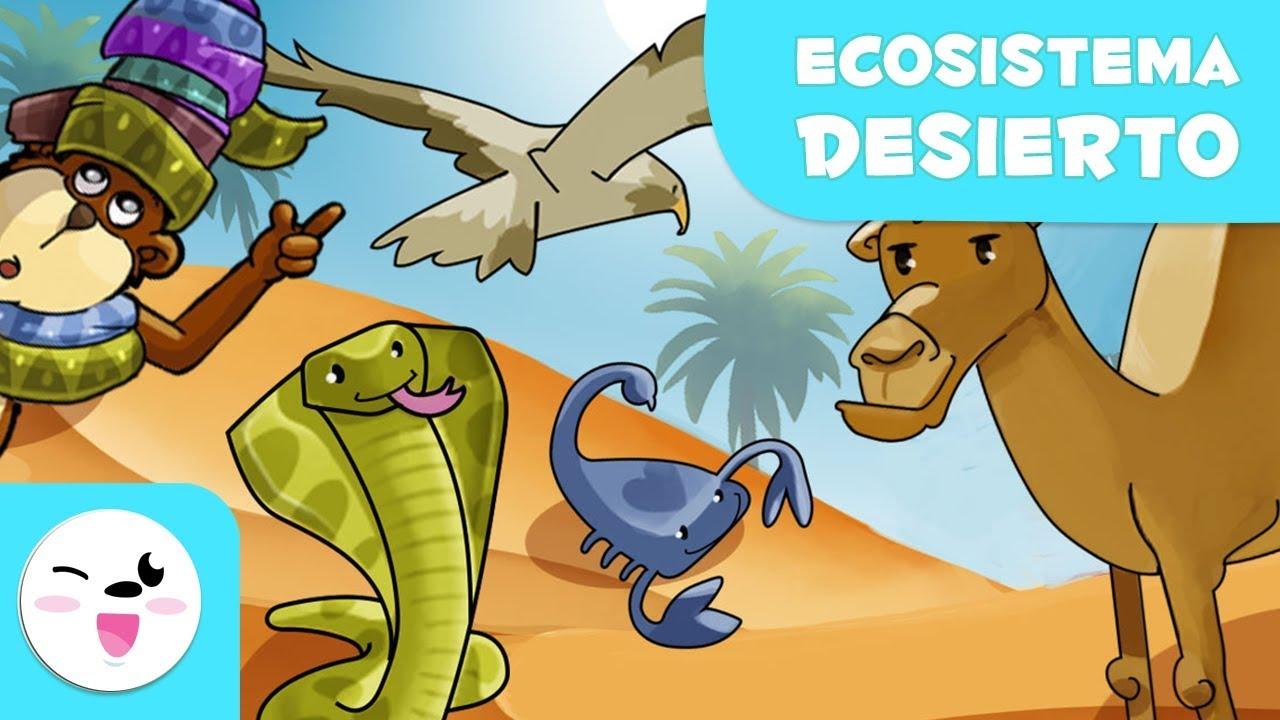 Los Animales Del Desierto Para Niños Conoce La Naturaleza