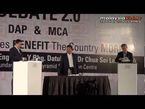 Soi Lek vs Guan Eng debate Round 2 - Part 1