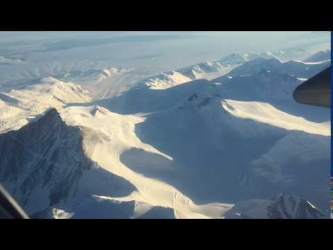 Trans Antarctic Mountain ranges
