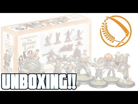 Guild Ball Unboxing: The Honest Land Starter Set (Farmer's G