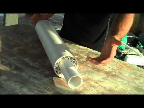DIY Huge Underwater Roller bearing! PVC  - YouTube