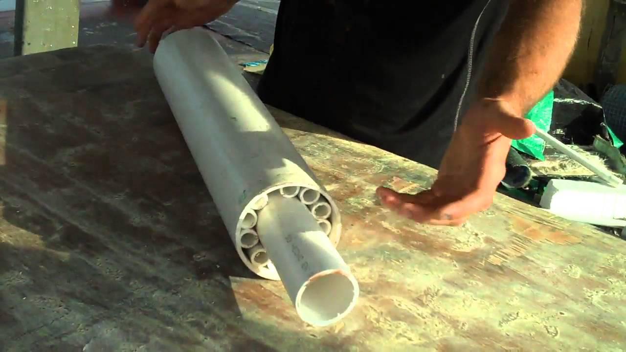 DIY Huge Underwater Roller bearing! PVC. - YouTube