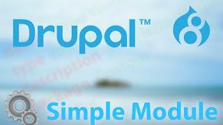 видео Создание модулей с Drupal 8. Часть 0. Введение