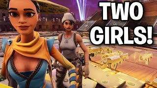2 Girls bizarres? essayé de m'arnaquer! 😂🧐 (Scammer Get Scammed) Fortnite Save The World