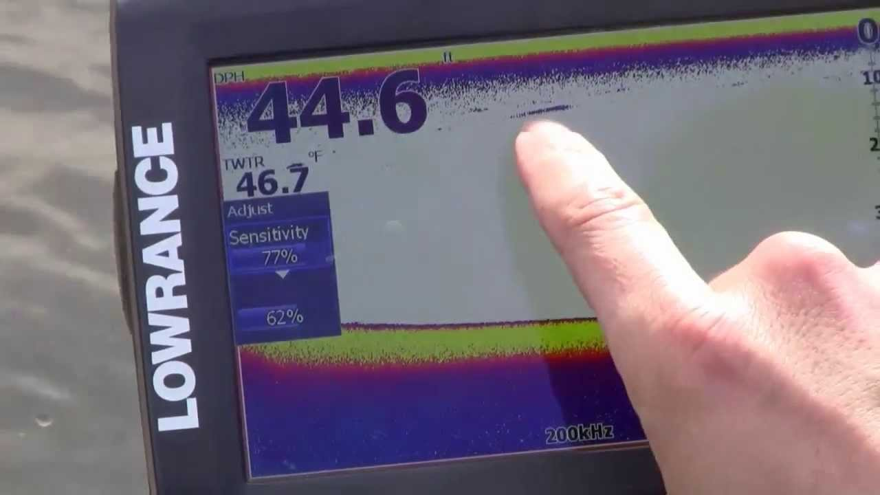 elite-7 and elite-5 hdi sensitivity settings - youtube, Fish Finder
