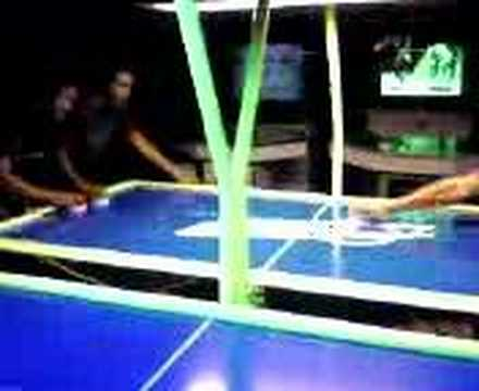 Doubles Match in Air Hockey : Gone Wild