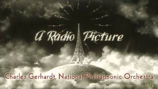 1972, Hollywood Fanfares, Charles Gerhardt, National Philharmonic Orch.  Hi Def LP,