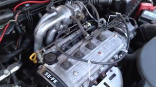 Toyota Paseo 5EFE with Corolla 4EFE tubular inlet manifold