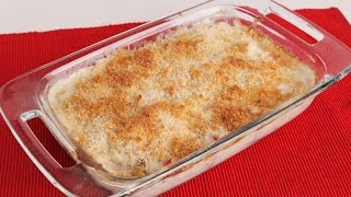 Chicken Cordon Bleu Casserole Recipe - Laura Vitale - Laura in the Kitchen Episode 1013