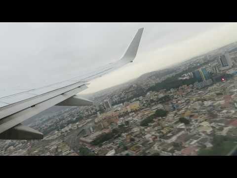 Takeoff American Airlines 737-800 GYE SEGU Guayaquil, Ecuador