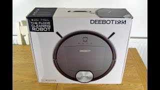 Deebot R95 MK2 Robot Vacuum Unboxing and Review