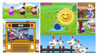 4 Popular Nursery Rhymes For Kids   Liliberry Nursery Rhymes & Kids Songs