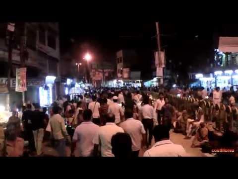 India,Varanasi,Night tour - Trip to Nepal,Tibet,India part 27 - Travel video HD