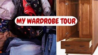Wardrobe Organisation Ideas India - 5 steps Closet Organisation India   Closet Tour India 2019