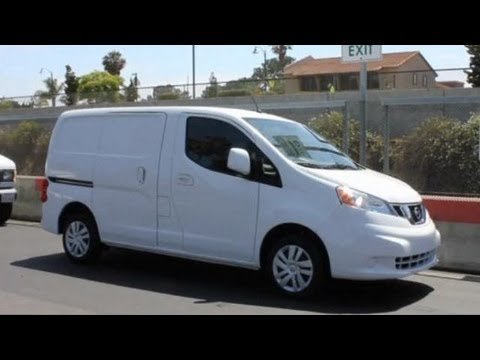 2013 nissan nv200 compact cargo commercial van video. Black Bedroom Furniture Sets. Home Design Ideas