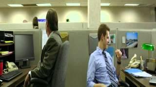 God Bless America Office Scene