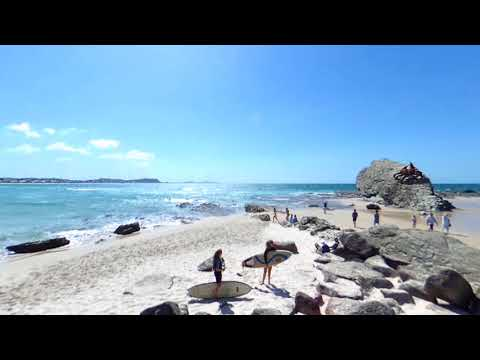 Currumbin Beach, Gold Coast  ~ 360° VIRTUAL PANORAMA