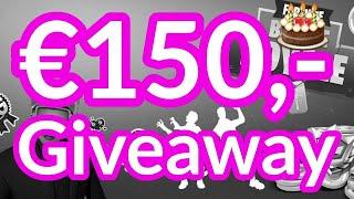 €150,- GIVEAWAY !!! 🎉🎉16 JAAR !! 🎉🎉 Gratis 15000 fortnite v-bucks winnen !! #Giveaway #Verjaardag