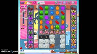Candy Crush Level 1539 help w/audio tips, hints, tricks