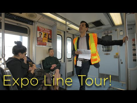 Expo Line Tour: Culver City to Santa Monica (Phase 2)