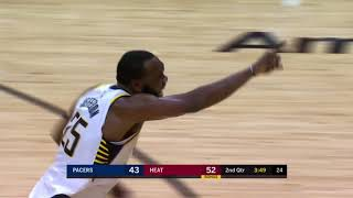 Indiana Pacers vs Miami Heat Full Game Highlights October 21 2017