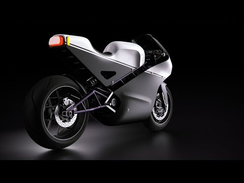 Motorcycle Model Overview In Fusion 360