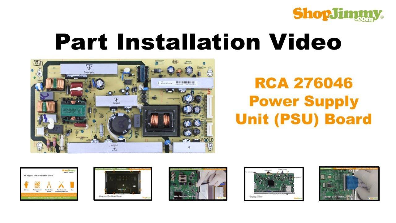 32 inch rca wiring diagram repair machine RCA Cable Diagram