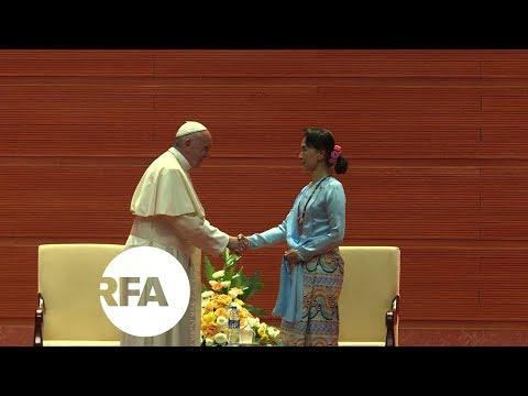 Pope Sidesteps Rohingya Crisis in Myanmar Address | Radio Free Asia (RFA)