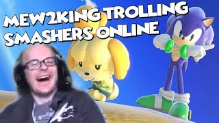 Mew2King Trolling Players on Smash Ultimate Online