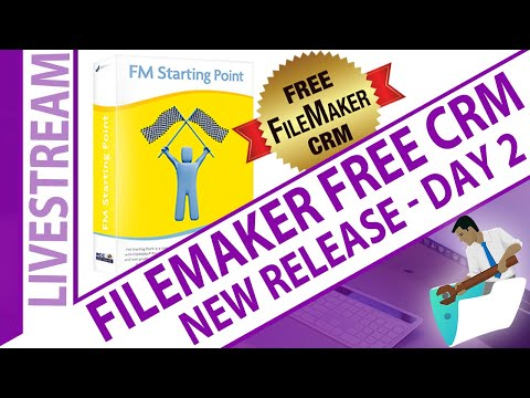 FileMaker Add-On Modules - into Free CRM - Day 2