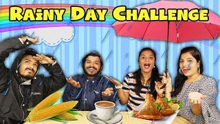Rainy Day Competition | Rainy Season Food Eating Competition