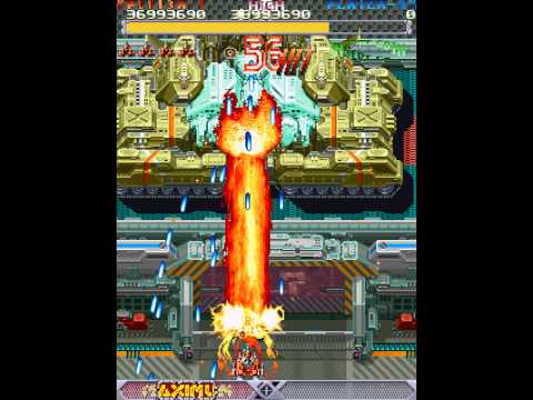 DoDonPachi Longplay (Arcade) [60 FPS]