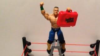 wwe action insider john cena elite 20 series mattel wrestling figure review grims toy show