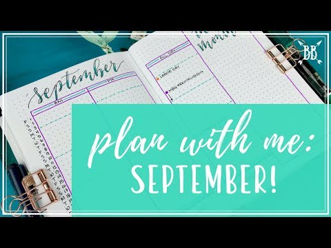 Plan With Me #21: September