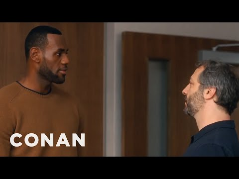 Judd Apatow On Directing LeBron James  - CONAN on TBS