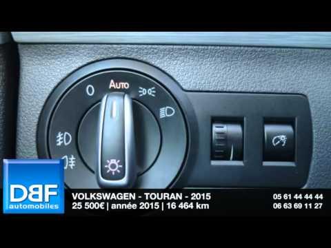 annonce occasion volkswagen touran 2 0 tdi 140 fap cup dsg6 2015 youtube. Black Bedroom Furniture Sets. Home Design Ideas