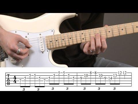 Intermediate Guitar Arpeggios Lesson