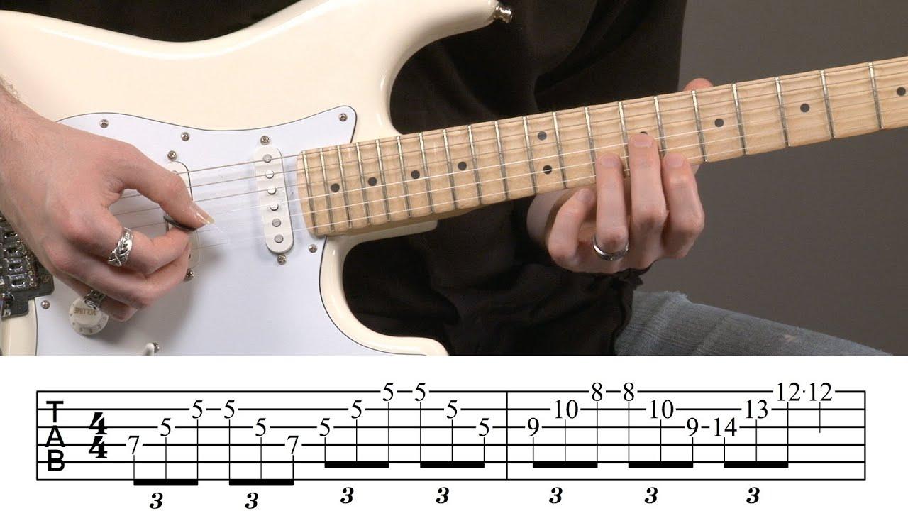 intermediate guitar arpeggios lesson youtube