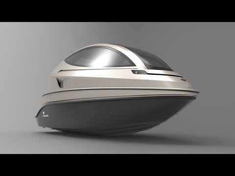 The New Super Jet Capsule Can accommodate up to 6 passengers