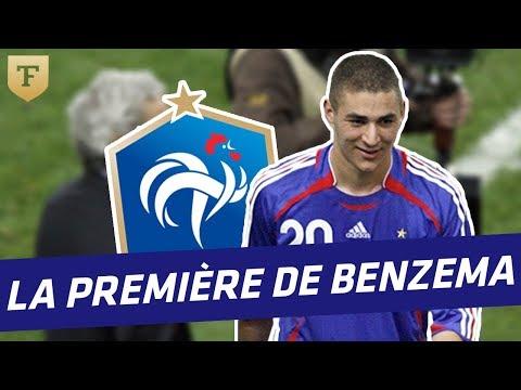 Equipe de France : La première sélection de Benzema (2011)