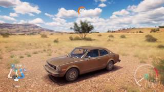 1974 Toyota Corolla SR5 - Speed Jump Crash Test - Forza Horizon 3 - 1440p 60fps